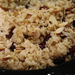 Picture of Brown Rice with Almonds & Cranberries