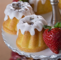Picture of Lemon Lavender Mini Bundts